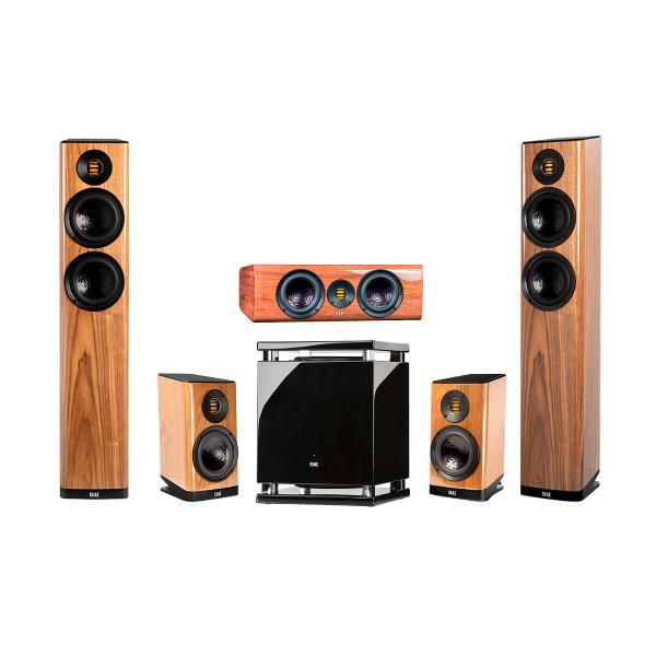 Комплект акустики ELAC 5.1 Vela High Gloss Walnut