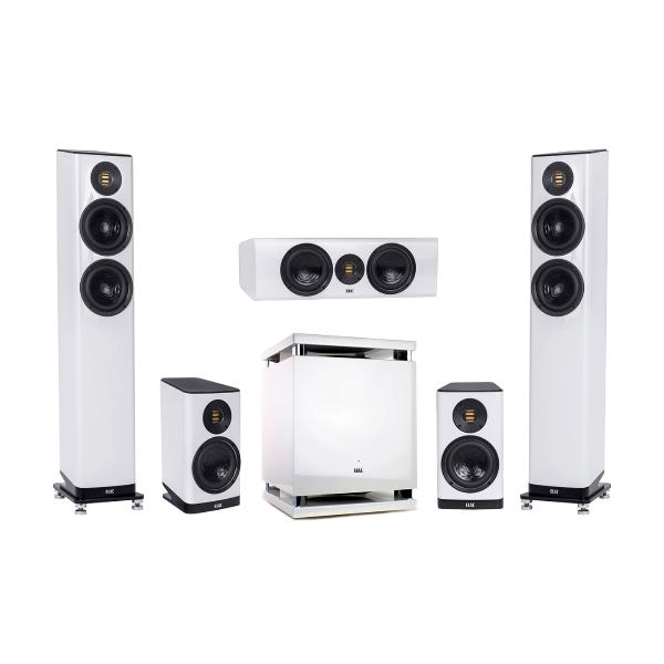 Комплект акустики ELAC 5.1 Vela High Gloss White