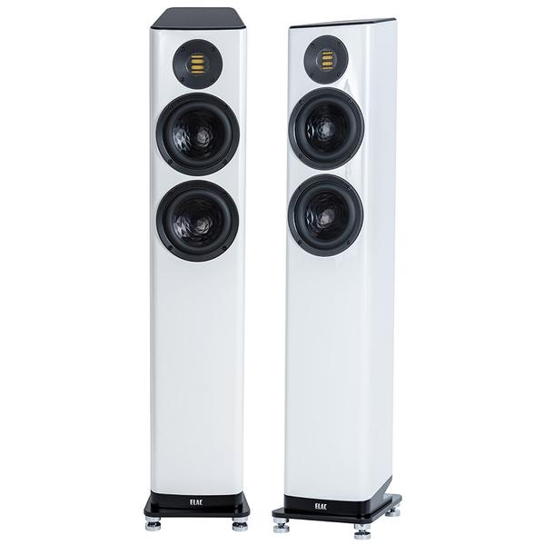 Напольная акустика ELAC Vela FS 407.2 High Gloss White полочная акустика arslab classic 1 5 high gloss white
