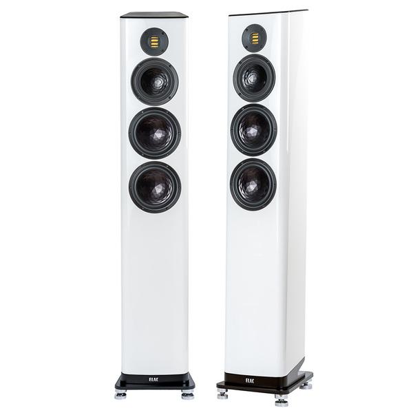 Напольная акустика ELAC Vela FS 409.2 High Gloss White полочная акустика arslab classic 1 5 high gloss white