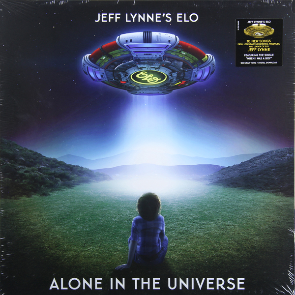 Electric Light Orchestra Electric Light Orchestra - Jeff Lynne's Elo - Alone In The Universe виниловая пластинка elo jeff lynnes elo alone in the universe