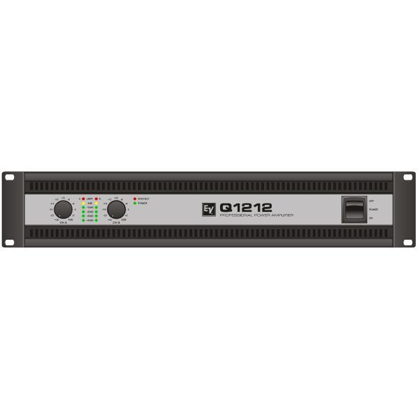 усилитель звука kicx ap 2 80ab 2 канальный 2x80 вт Профессиональный усилитель мощности Electro-Voice Q1212