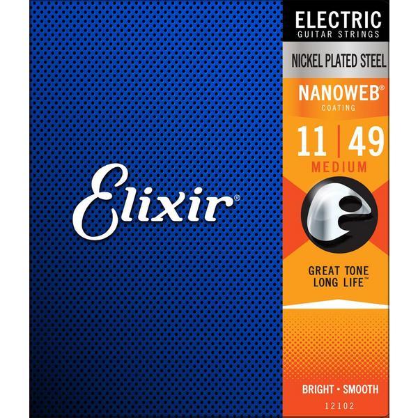 Гитарные струны Elixir 12102 (для электрогитары)
