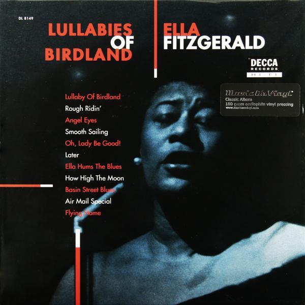 Ella Fitzgerald Ella Fitzgerald - Lullabies Of Birdland (180 Gr) набор лаков для ногтей christina fitzgerald christina fitzgerald ch007lwcpc16