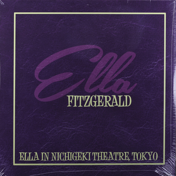 Ella Fitzgerald Ella Fitzgerald - Ella In Nichigeki Theatre working together in theatre