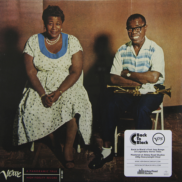 Ella Fitzgerald Louis Armstrong Ella Fitzgerald Louis Armstrong - Ella And Louis (180 Gr) louis armstrong and duke ellington recording together for the first time lp