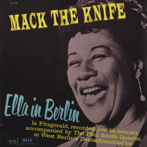 Ella Fitzgerald Ella Fitzgerald - Mack The Knife ella fitzgerald songbooks – the original cole porter and rodgers