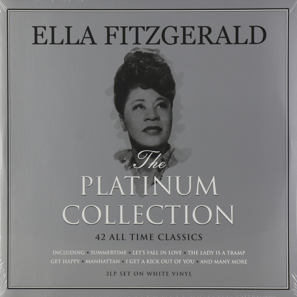 Ella Fitzgerald Ella Fitzgerald - Platinum Collection (3 Lp, Colour) сланцы ella ella el023awpyn50