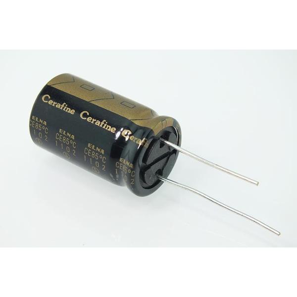 Конденсатор ELNA Cerafine 35V 1000 uF конденсатор elna cerafine 25v 470 uf