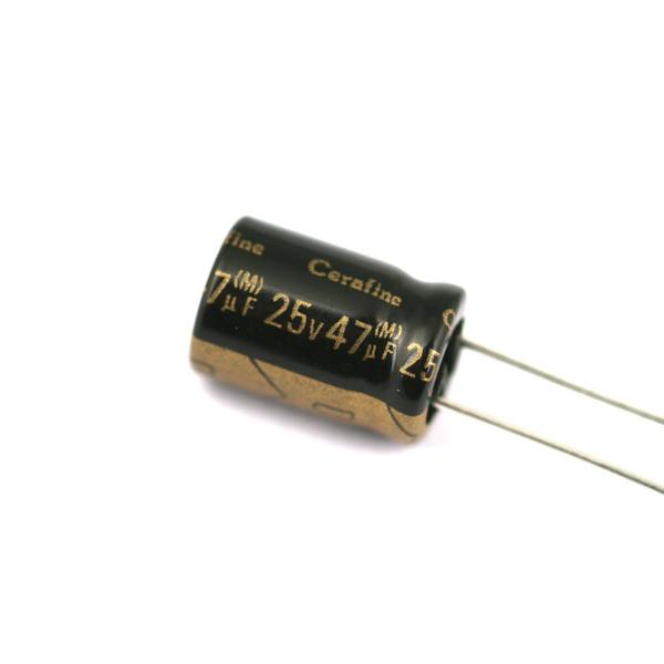 Конденсатор ELNA Cerafine 25V 47 uF конденсатор elna cerafine 25v 470 uf