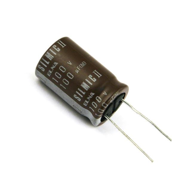 Конденсатор ELNA Silmic II 100V 100 uF конденсатор elna silmic ii 25v 100 uf