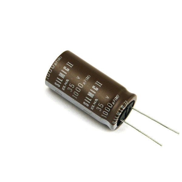 Конденсатор ELNA Silmic II 35V 1000 uF diy 35v 100uf aluminum electrolytic capacitor black 10pcs