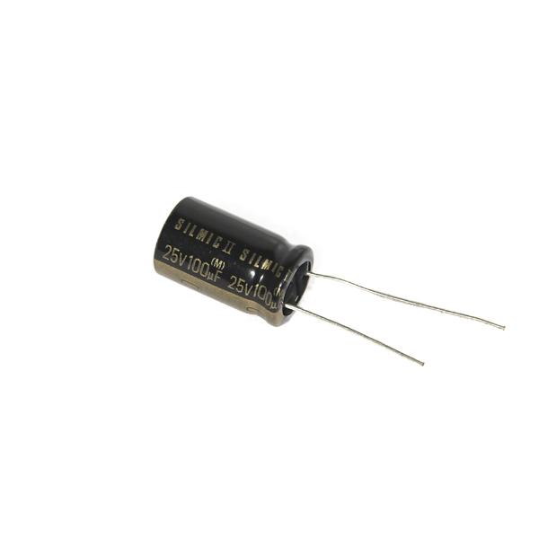 Конденсатор ELNA Silmic II 25V 100 uF конденсатор elna silmic ii 25v 100 uf