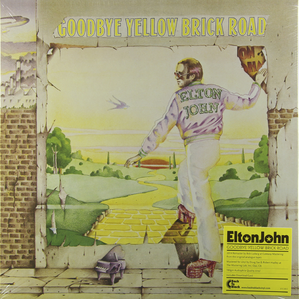 Elton John Elton John - Goodbye Yellow Brick Road (2 LP) цена и фото
