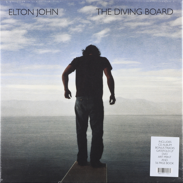 Фото - Elton John Elton John - Diving Board (2 Lp + Cd + Dvd) elton john elton john one night only the greatest hits 2 lp