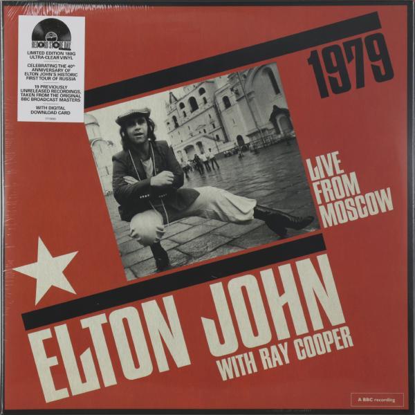 Elton John Elton John - Live From Moscow (2 LP) цена