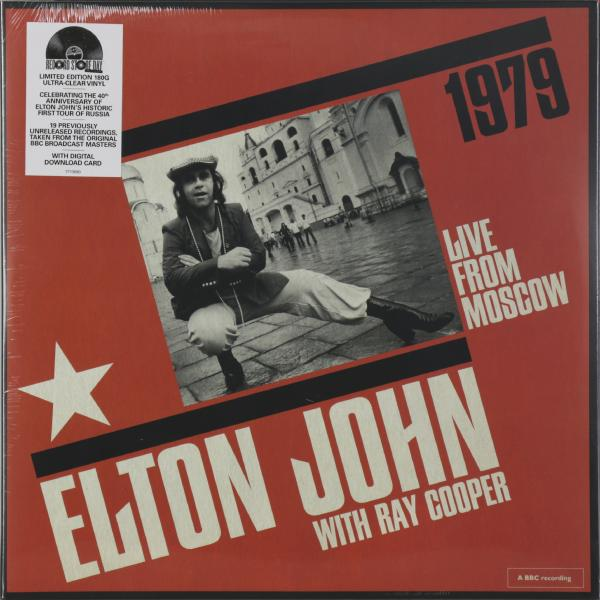 Elton John Elton John - Live From Moscow (2 LP) элтон джон elton john goodbye yellow brick road 2 lp
