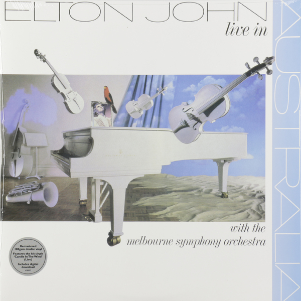 Elton John Elton John - Live In Australia With The Melbourne Symphony Orchestra (2 LP) цена и фото