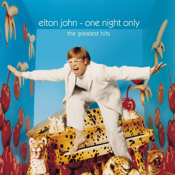 Elton John Elton John - One Night Only - The Greatest Hits (2 LP) the black crowes the black crowes three snakes and one charm 2 lp