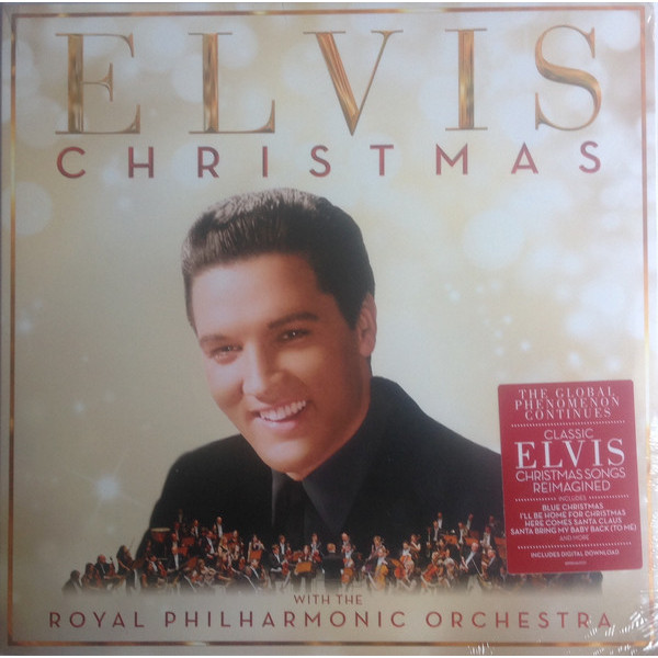 Elvis Presley Elvis Presley - Christmas With Elvis Presley And The Royal Philharmonic Orchestra elvis presley elvis presley royal philharmonic orchestra the wonder of you 2 lp cd