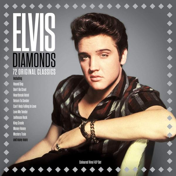 Elvis Presley - Diamonds (colour, 4 LP)