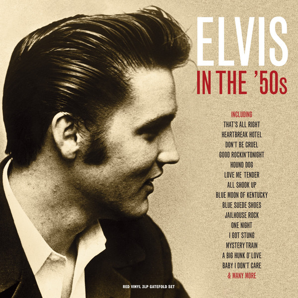 Elvis Presley - In The 50s (3 Lp, Colour)