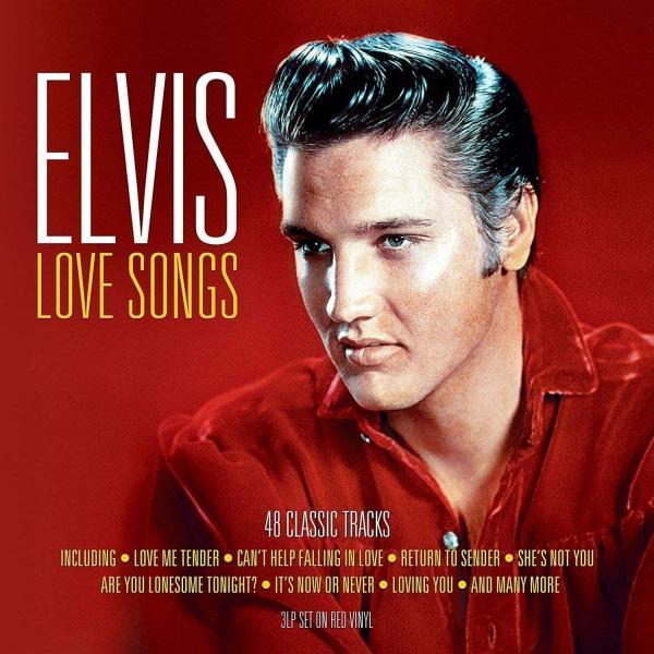 Elvis Presley Elvis Presley - Love Songs (colour, 180 Gr, 3 LP) ном ном love songs 180 gr
