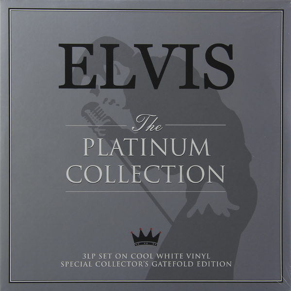 Elvis Presley Elvis Presley - Platinum Collection (3 LP) (уценённый Товар) casual scrawl flowers pattern tie pocket square bow tie