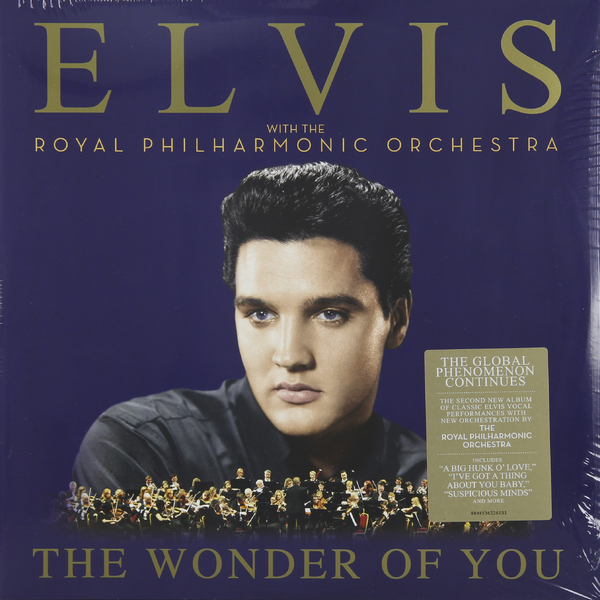 Elvis Presley Elvis Presley   Royal Philharmonic Orchestra - The Wonder Of You (2 LP)