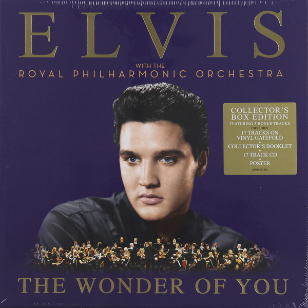 Elvis Presley Elvis Presley Royal Philharmonic Orchestra - The Wonder Of You (2 Lp + Cd) elvis presley elvis presley royal philharmonic orchestra the wonder of you 2 lp cd