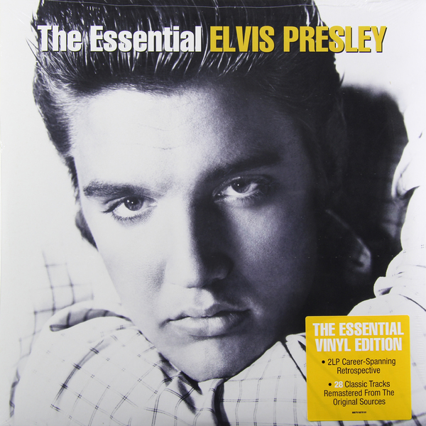 Elvis Presley Elvis Presley - The Essential Elvis Presley (2 LP) shell shaped hair ring set
