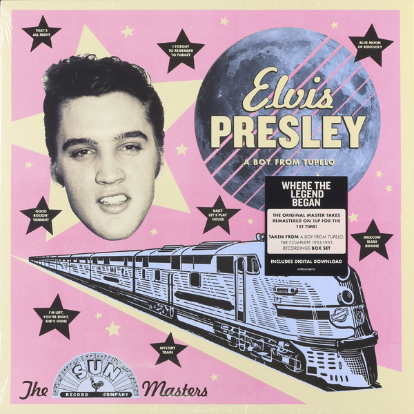Elvis Presley Elvis Presley - The Sun Masters: A Boy From Tupelo стоимость