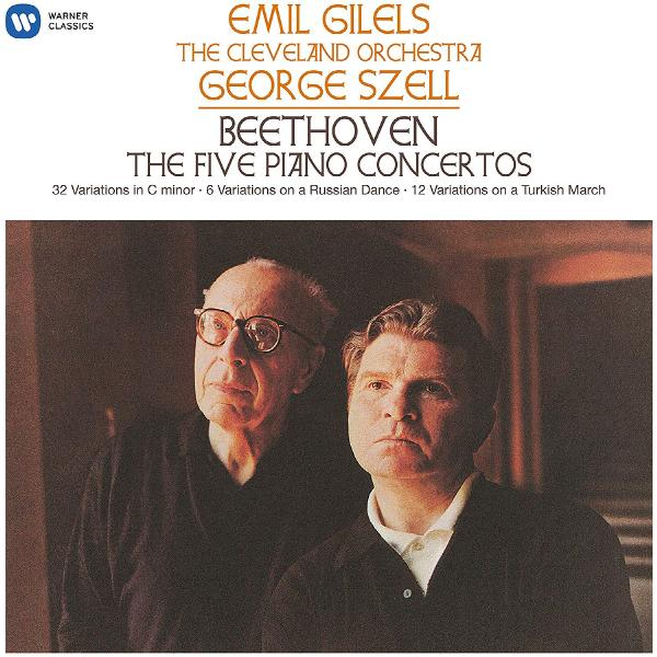 Emil Gilels - Beethoven: The 5 Piano Concertos (5 Lp, 180 Gr)