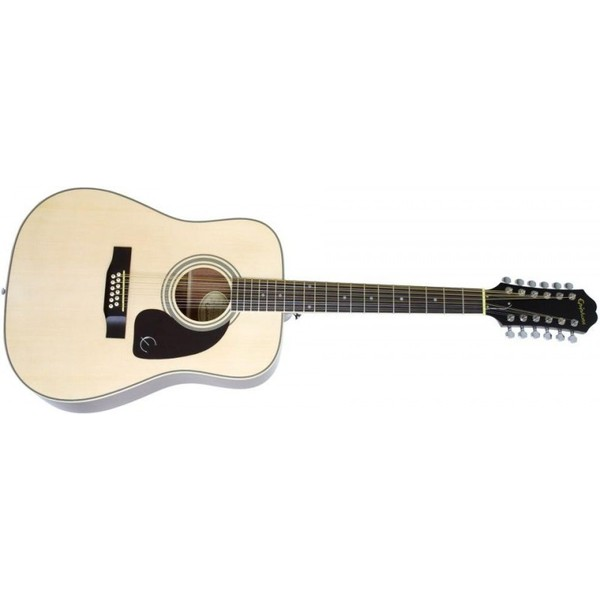 Акустическая гитара Epiphone DR-212 NATURAL CH HDWE