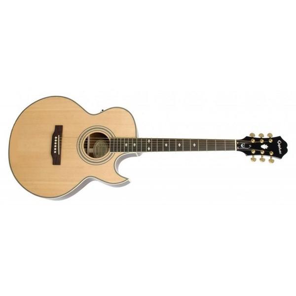 Гитара электроакустическая Epiphone PR-5E GOLD HDWE NATURAL дредноут takamine ef341sc