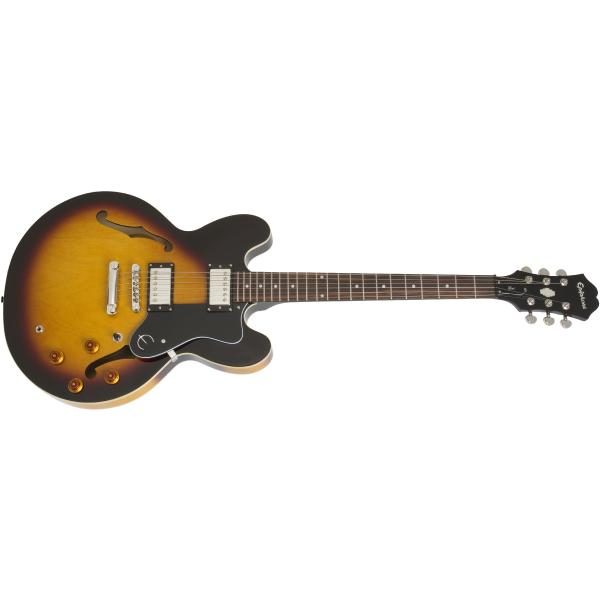 Гитара полуакустическая Epiphone Dot ES-335 Vintage Sunburst