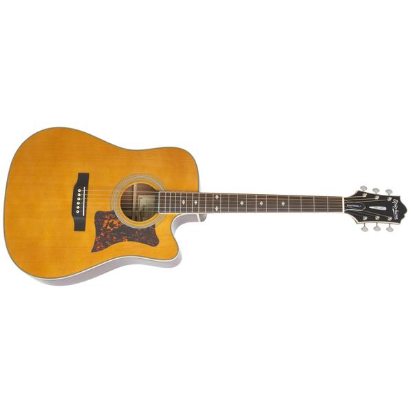 Гитара электроакустическая Epiphone MASTERBILT DR-500MCE Natural