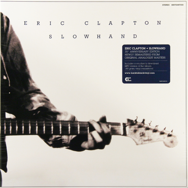 Eric Clapton Eric Clapton - Slowhand (180 Gr) eric clapton eric clapton slowhand at 70 live at the royal albert hall 3 lp dvd