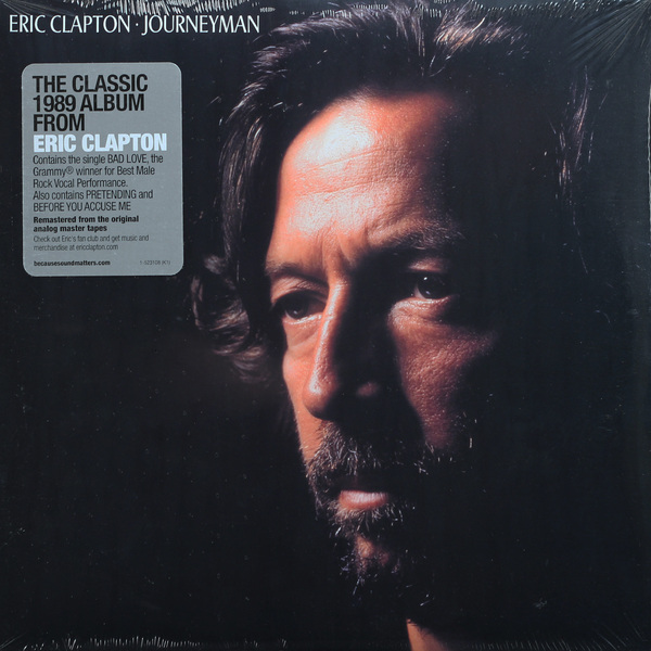 Eric Clapton Eric Clapton - Journeyman (2 LP) cd eric clapton 24 nights