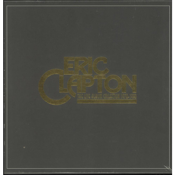 Eric Clapton Eric Clapton - The Live Album Collection (6 LP) eric clapton eric clapton slowhand at 70 live at the royal albert hall 3 lp dvd