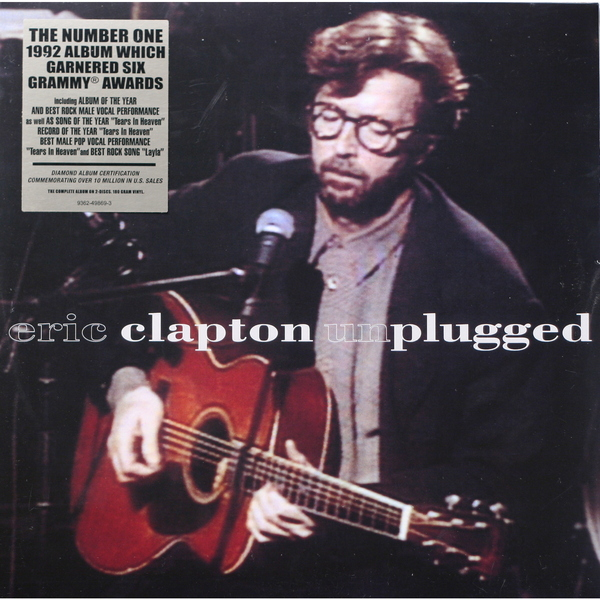 Eric Clapton Eric Clapton - Unplugged (2 LP) cd eric clapton 24 nights