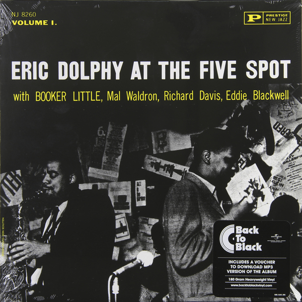 Eric Dolphy Eric Dolphy - At The Five Spot (180 Gr) eric antoine paris