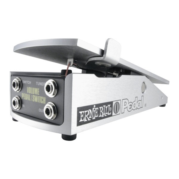 Футсвич Ernie Ball 250K Mono Volume Pedal with Switch hotone soul press volume expression wah wah guitar pedal cry baby sound