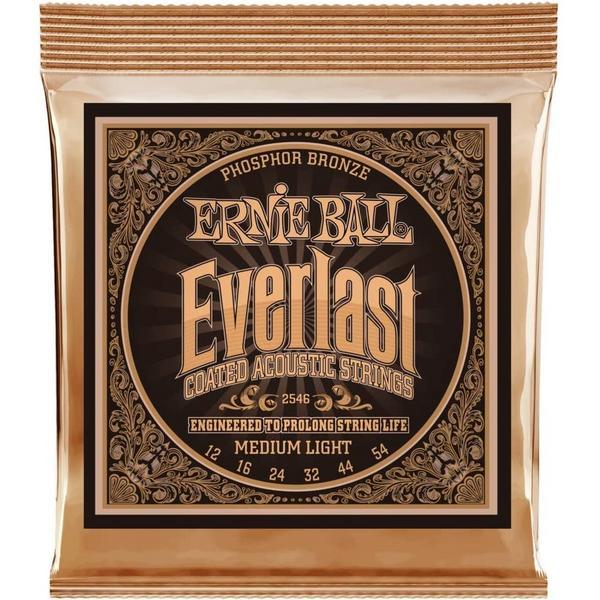 Фото - Гитарные струны Ernie Ball 2546 (для акустической гитары) гитарные струны ernie ball 2146 для акустической гитары