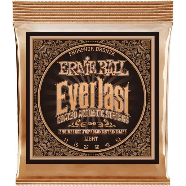 Фото - Гитарные струны Ernie Ball 2548 (для акустической гитары) гитарные струны ernie ball 2146 для акустической гитары