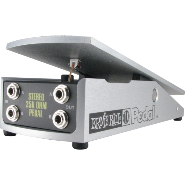 Педаль эффектов Ernie Ball 25K Stereo Volume Pedal mooer leveline volume pedal for guitar bass