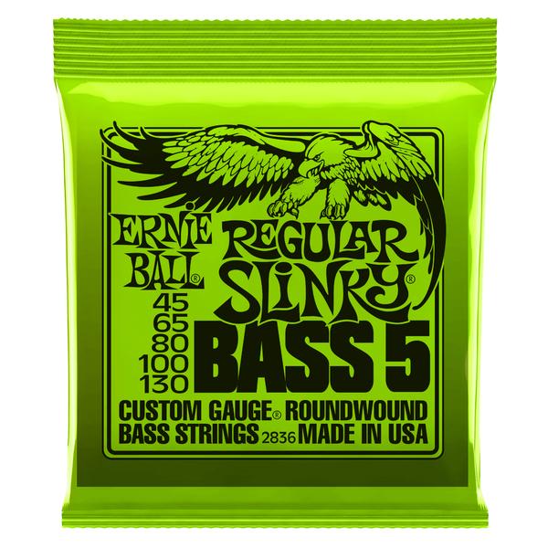 Гитарные струны Ernie Ball 2836 (для бас-гитары) ernie ball extra light nickel wound струны для электрической гитары 10 50