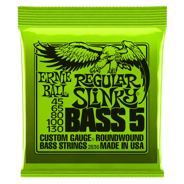 Гитарные струны Ernie Ball 2836 (для бас-гитары) педаль для бас гитары ampeg scr di bundle