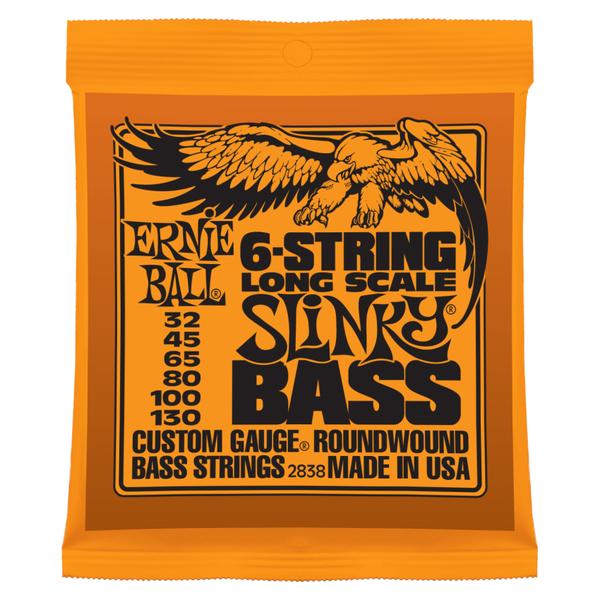Гитарные струны Ernie Ball 2838 (для бас-гитары) ernie ball extra light nickel wound струны для электрической гитары 10 50