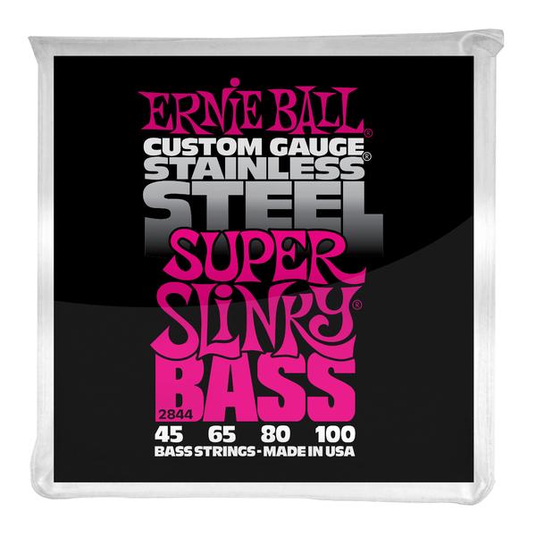 Гитарные струны Ernie Ball 2844 (для бас-гитары) ernie ball 2223 струны для электрической гитары nickel wound super slinky 9 11 16 24w 32 42